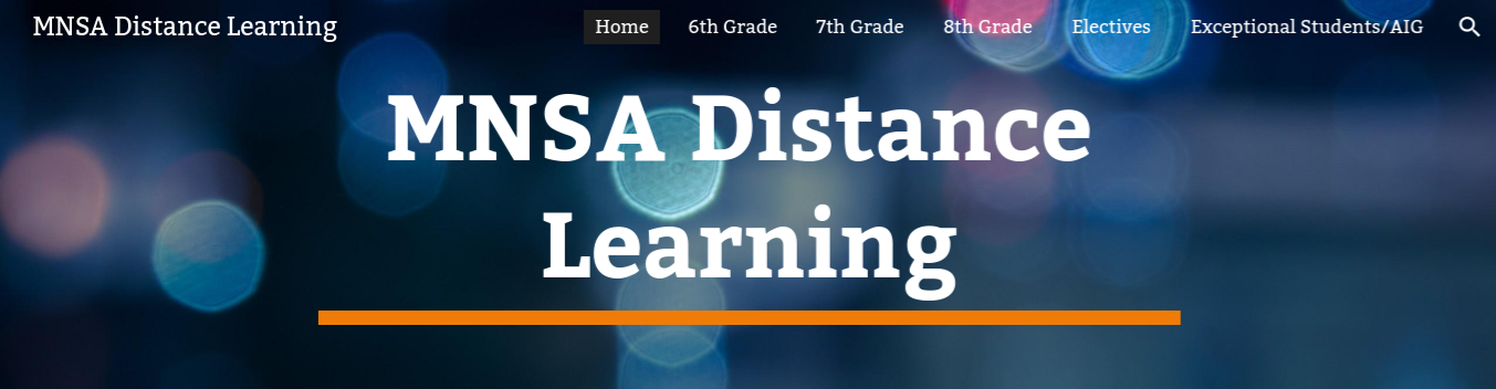 MNSA Distance Learning Site