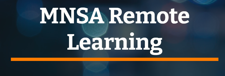 MNSA Remote Learning Site