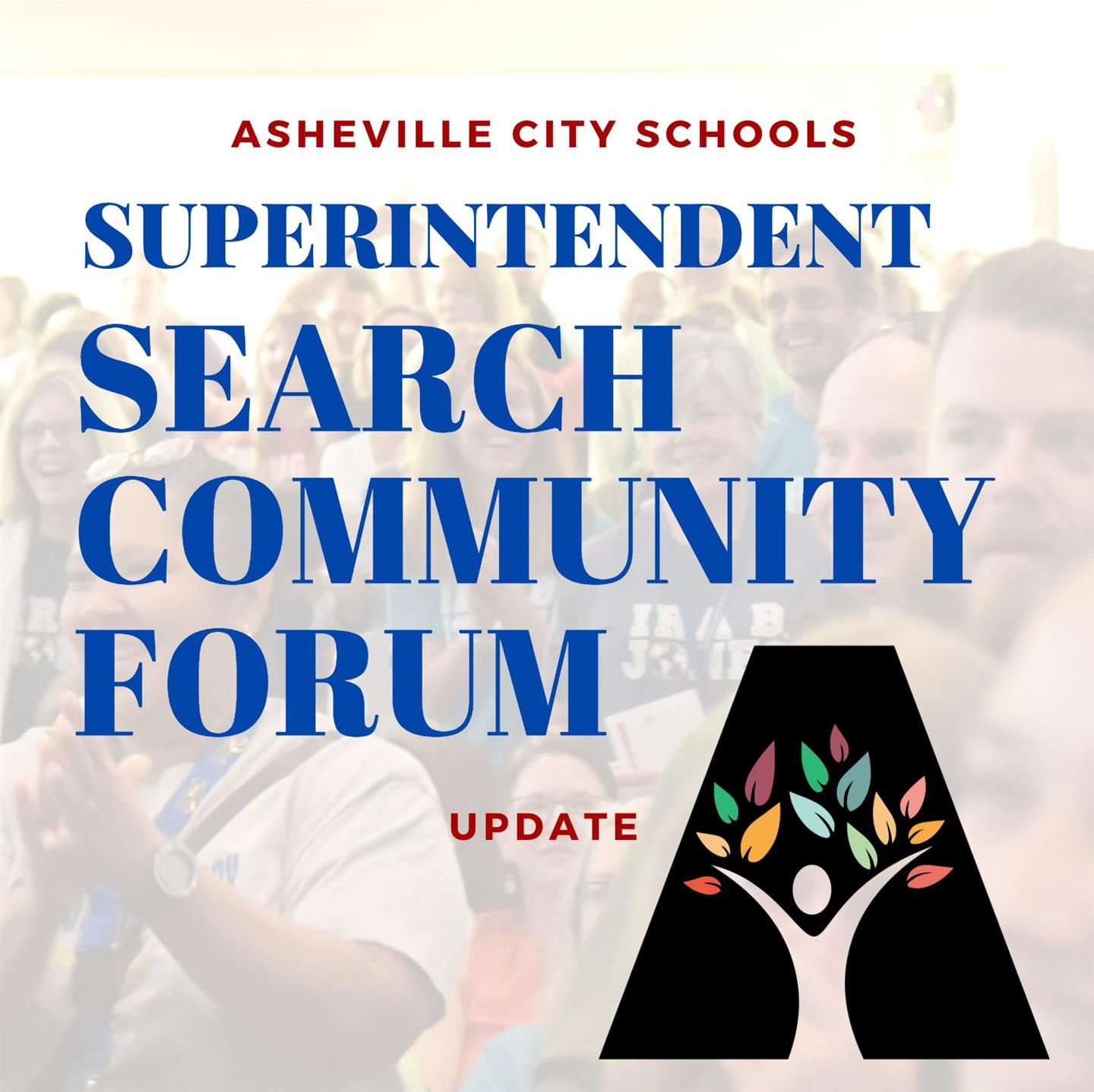 Superintendent Search Community Forums  - UPDATE